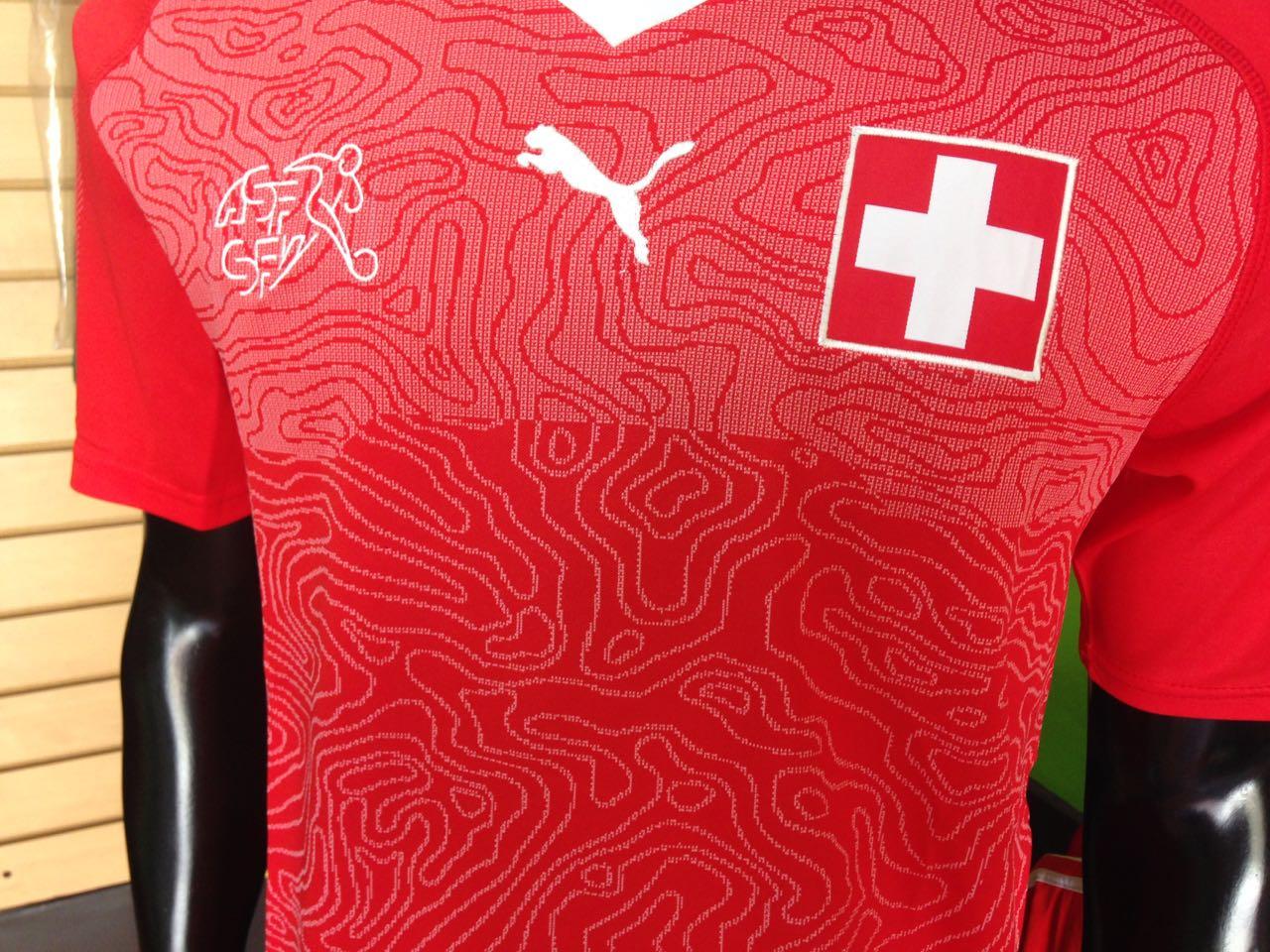camiseta selecci 243 n suiza 2018 f 250 tbol de primera