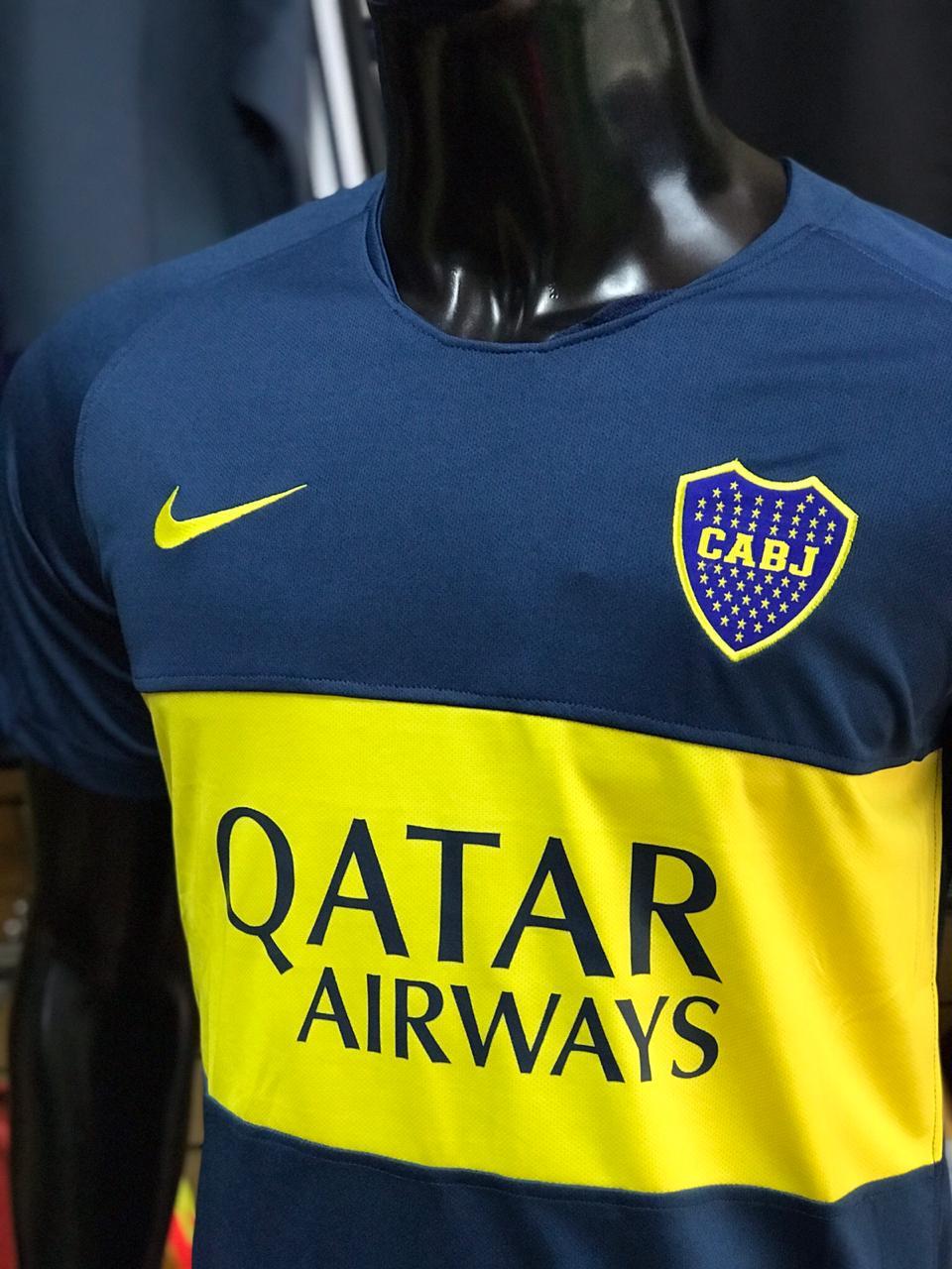 Camiseta Boca Juniors Local 2018 2019 Ftbol De Primera