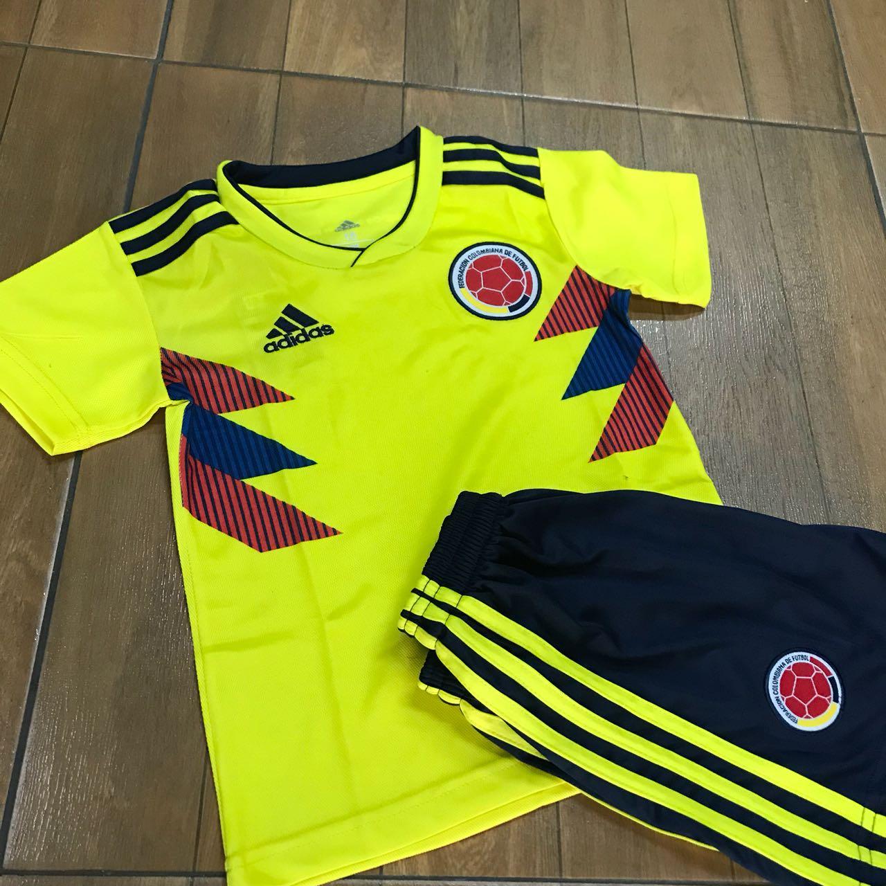f469b280c5b83 Uniforme Niño Colombia 2018 - Fútbol de Primera