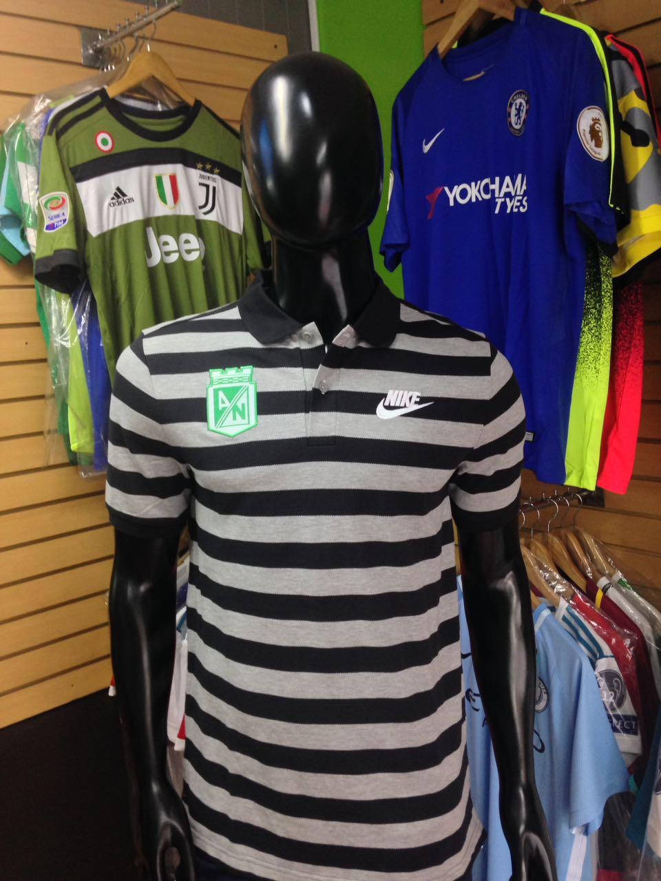 Camiseta Polo Presentación Atlético Nacional 6cced3485511a