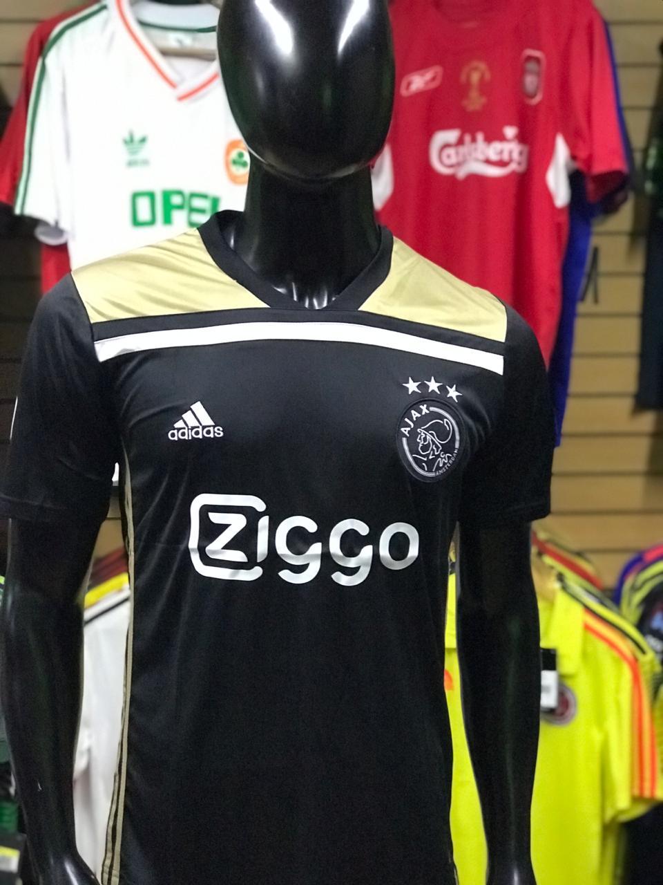 bastante agradable 3ca06 93b30 Camiseta Ajax Alternativa 2018-2019