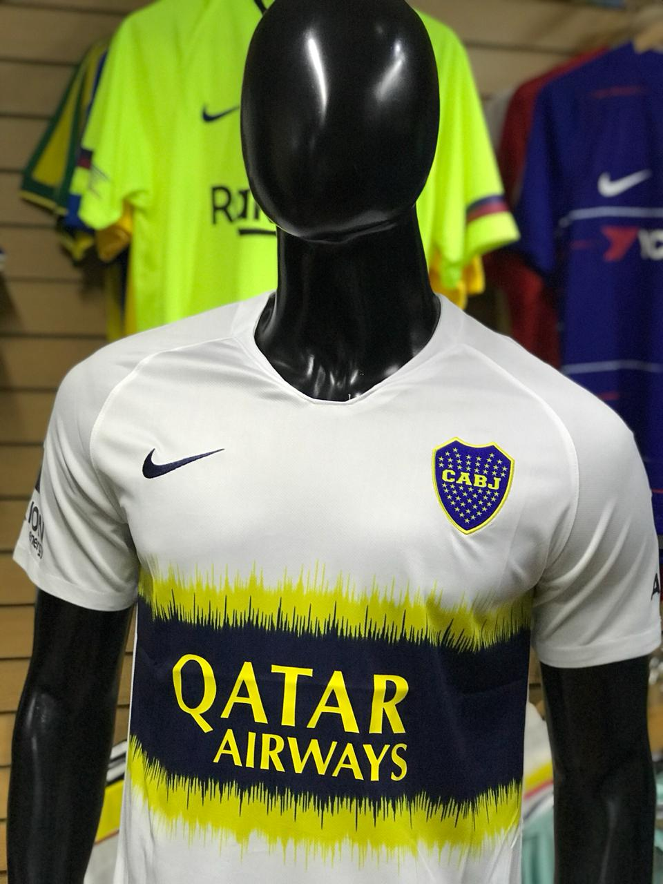 Camiseta Boca 2018 2019 Primera Fútbol Juniors De Alternativa rS5qTwr