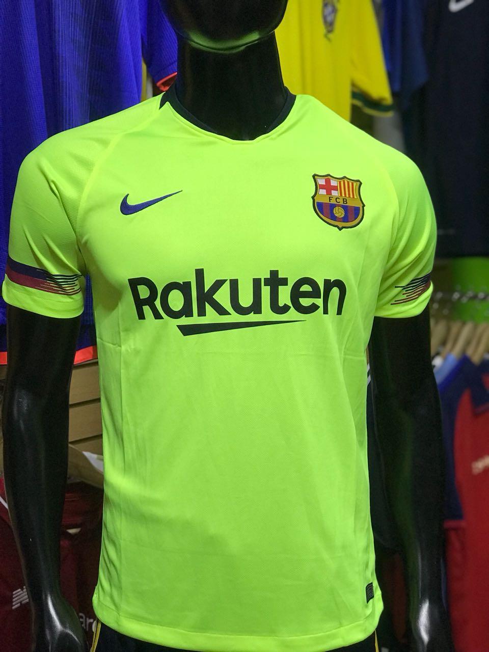Camiseta Barcelona Alternativa 2018-2019 - Fútbol de Primera 1d64af2c7d21f