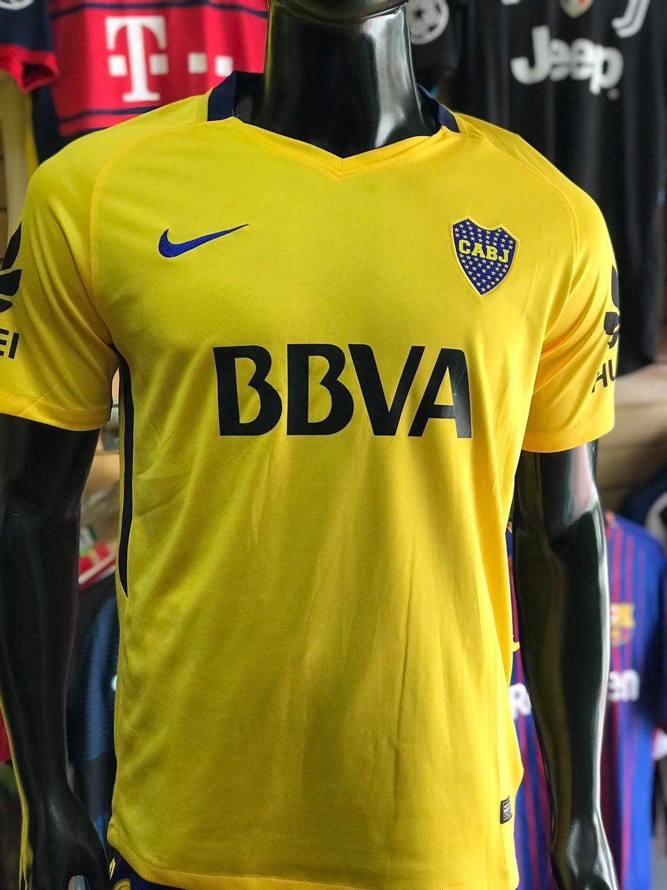 8144b3128037f Camiseta Boca Juniors Alternativa 2017-2018 - Fútbol de Primera