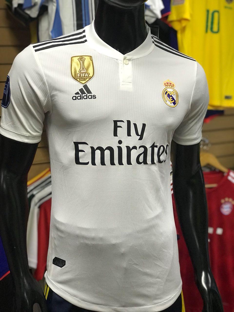6960aa5033803 Camiseta Real Madrid Local 2018 - 2019 ADIZERO - Fútbol de Primera