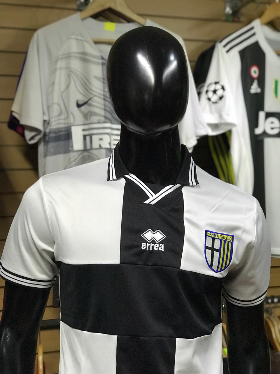 2018 Fútbol Primera De Parma Blanca 2019 Camiseta Alternativa 7gyfYb6