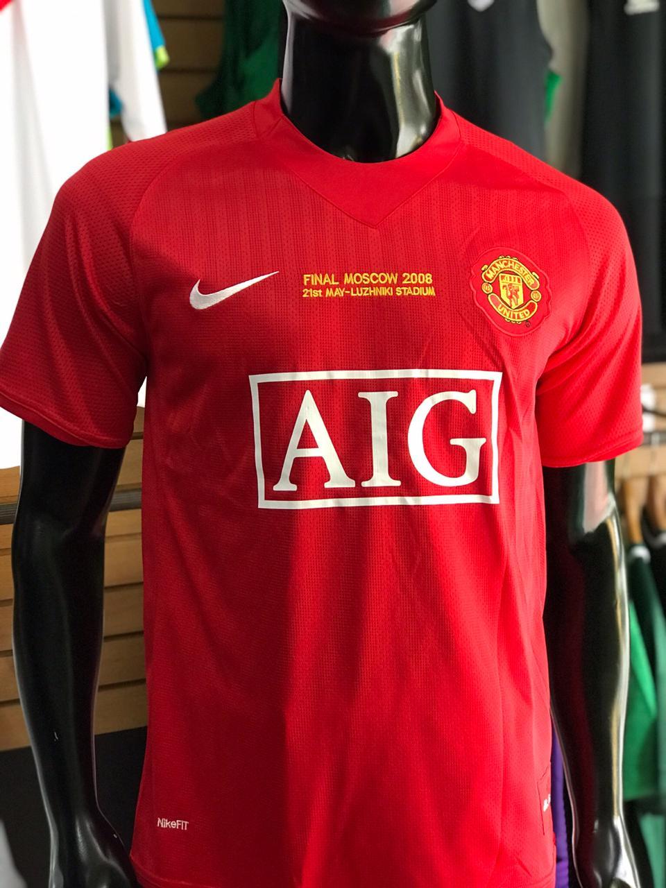 c9d7e048a Camiseta Manchester United 2007-2008 Cristiano Ronaldo - Fútbol de Primera