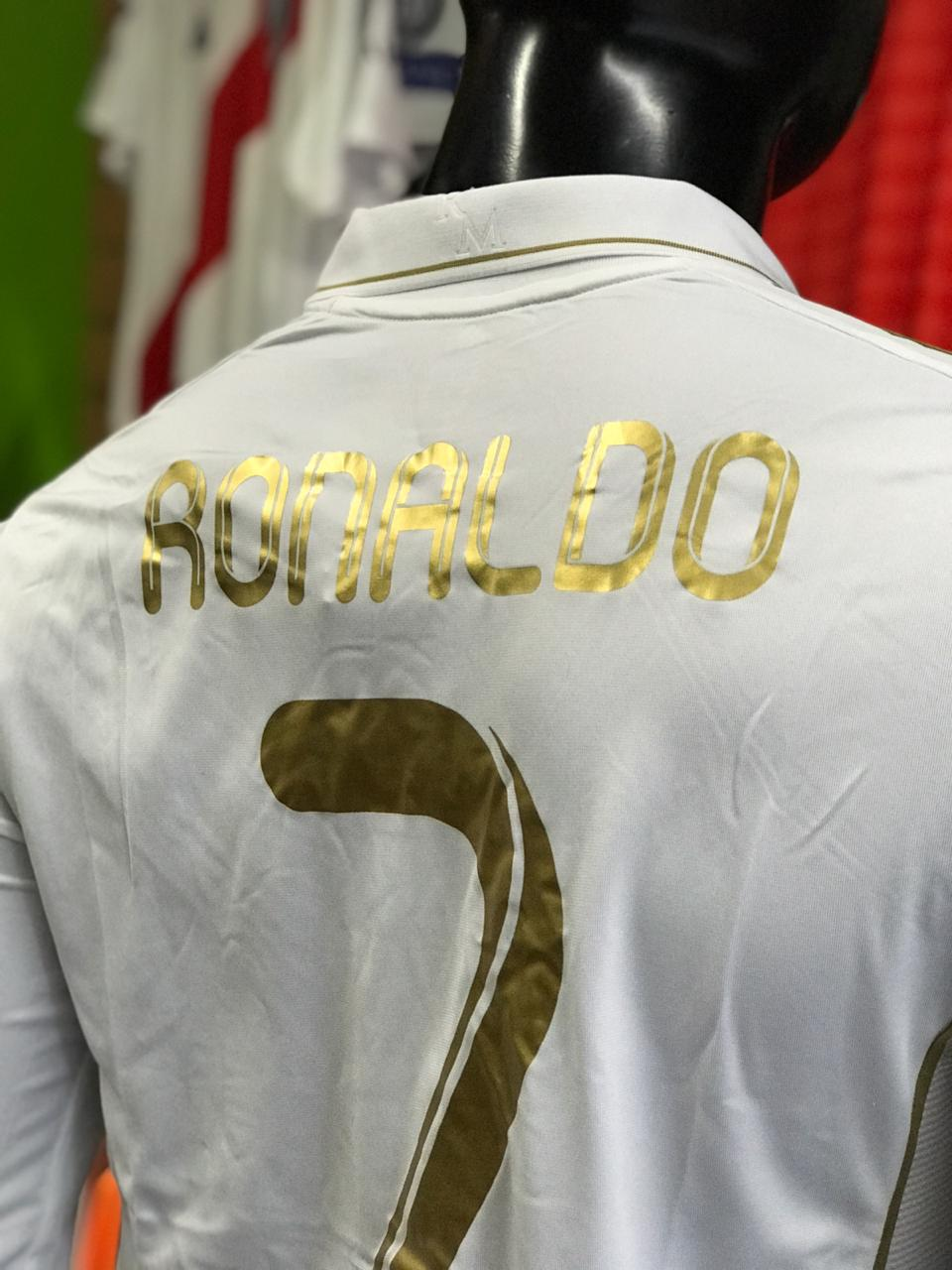 Camiseta Retro Real Madrid - Fútbol de Primera 4654325f2df26