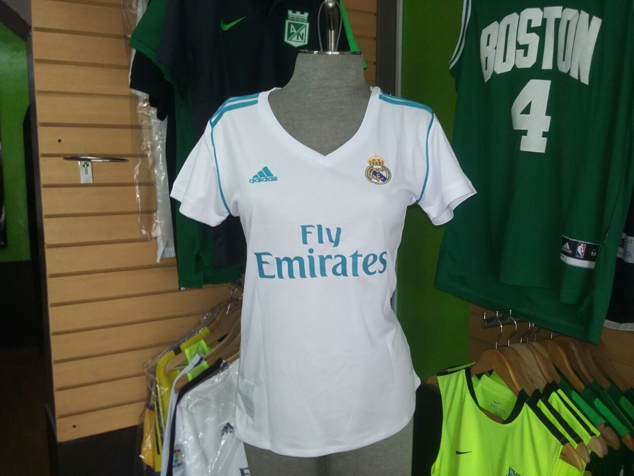 Real Camiseta 2017 Madrid Mujer 18 wY7xp6nZ