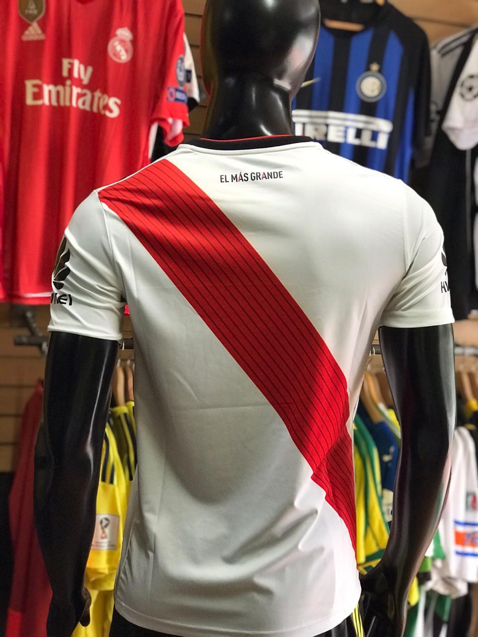 Camiseta River Plate Local 2018 2019 Ftbol De Primera
